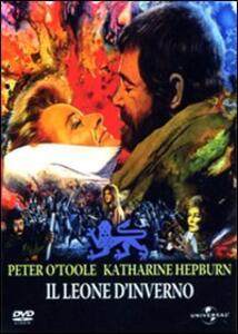 Il leone d'inverno di Anthony Harvey - DVD