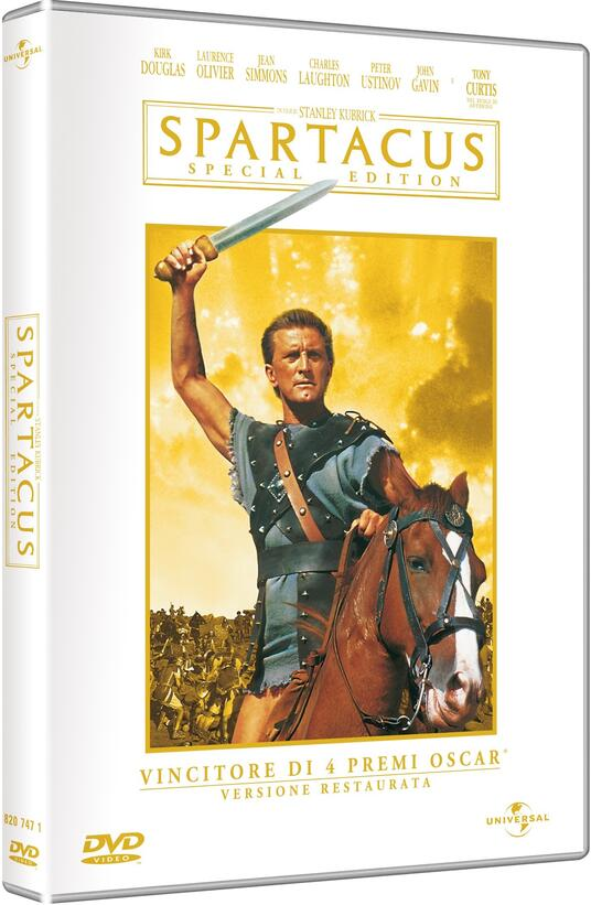 Spartacus (2 DVD)<span>.</span> Special Edition di Stanley Kubrick - DVD