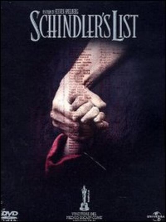 Schindler's List<span>.</span> Edizione speciale di Steven Spielberg - DVD