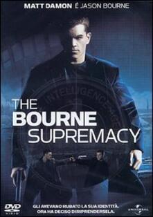 The Bourne Supremacy di Paul Greengrass - DVD
