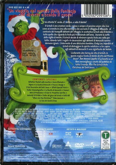 Il Grinch di Ron Howard - DVD - 2