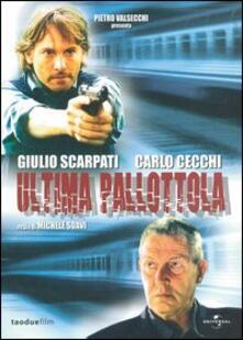 Ultima pallottola di Michele Soavi - DVD