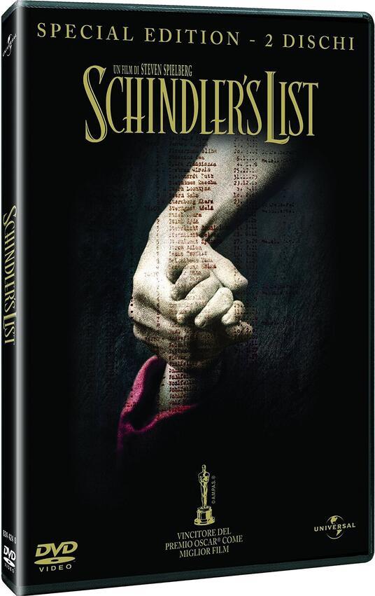 Schindler's List (2 DVD) di Steven Spielberg - DVD