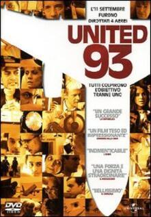 United 93 di Paul Greengrass - DVD