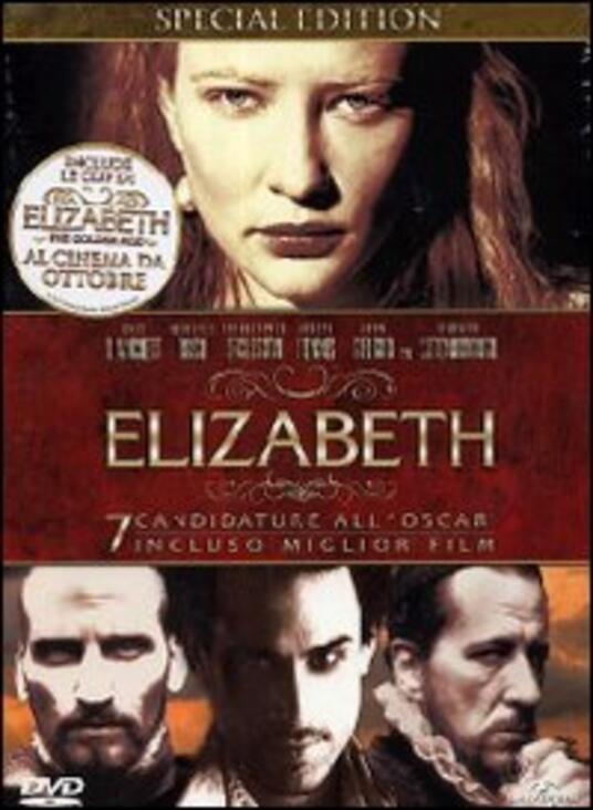 Elizabeth<span>.</span> Special Edition di Shekar Kapur - DVD