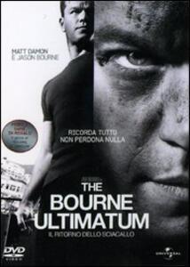 The Bourne Ultimatum. Il ritorno dello sciacallo (1 DVD) di Paul Greengrass - DVD