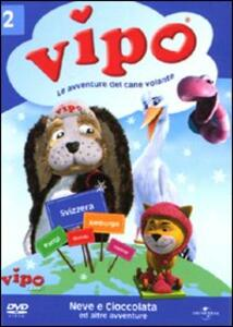 Vipo. Le avventure del cane volante. Vol. 02 di Ido Angel - DVD