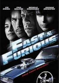 Cover Dvd Fast & Furious. Solo parti originali (1 DVD)