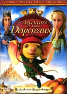 Le avventure del topino Despereaux di Robert Stevenhagen,Sam Fell - DVD