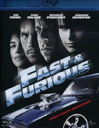 Cover Dvd Fast & Furious. Solo parti originali