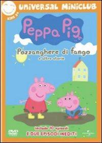 Cover Dvd Peppa Pig. Pozzanghere di fango e altre storie (DVD)