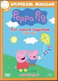Cover Dvd Peppa Pig. Far volare un aquilone e altre storie (DVD)