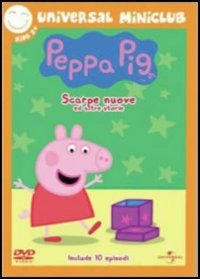 Cover Dvd Peppa Pig. Scarpe nuove e altre storie (DVD)