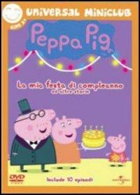 Cover Dvd Peppa Pig. La mia festa di compleanno e altre storie (DVD)