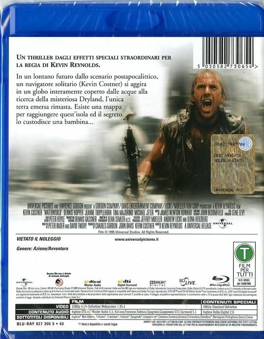 Waterworld di Kevin Reynolds - Blu-ray - 2