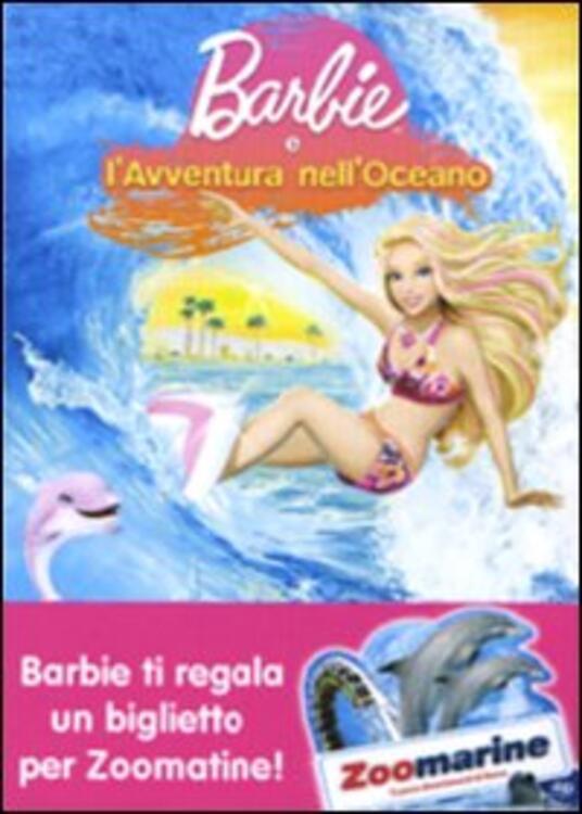 Barbie e l'avventura nell'oceano di Adam L. Wood - DVD