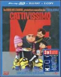 Cover Dvd Cattivissimo me (3D e Digital copy)