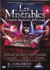 Film Les Miserables. Il concerto. 25° Anniversario