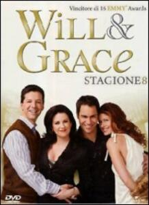 Will & Grace. Stagione 8 (4 DVD) - DVD