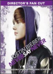 Justin Bieber. Never Say Never di Jon Chu - DVD