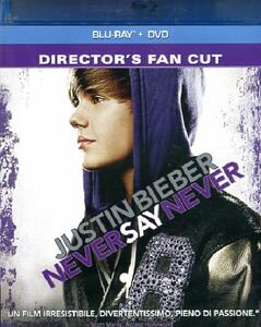Justin Bieber. Never Say Never (DVD + Blu-ray)