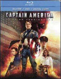 Cover Dvd Captain America. Il primo vendicatore (Blu-ray)