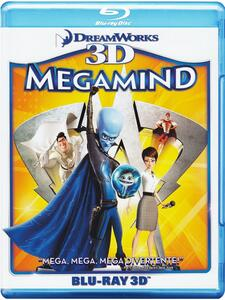 Megamind. 3D (Blu-ray + Blu-ray 3D) di Tom McGrath