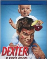 Cover Dvd Dexter. Stagione 4 (Blu-ray)