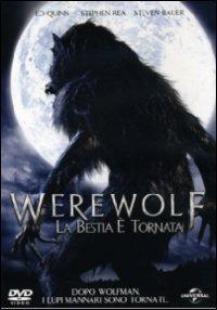 Cover Dvd Werewolf. La bestia è tornata (DVD)