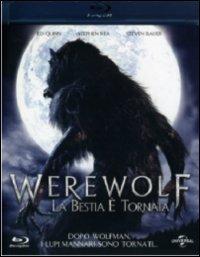 Cover Dvd Werewolf. La bestia è tornata (Blu-ray)