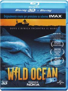 Wild Ocean 3D (Blu-ray + Blu-ray 3D) di Luke Cresswell,Steve McNicholas