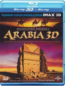 Arabia 3D (Blu-ray + Blu-ray 3D) di Greg MacGillivray - Blu-ray + Blu-ray 3D