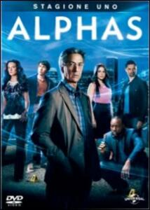 Alphas. Stagione 1 (3 DVD) - DVD
