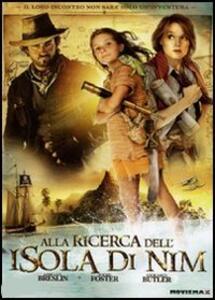 Alla ricerca dell'isola di Nim di Jennifer Flackett,Mark Levin - DVD