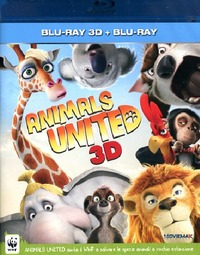 Cover Dvd Animals United 3D