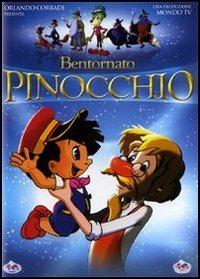 Cover Dvd Bentornato Pinocchio (DVD)