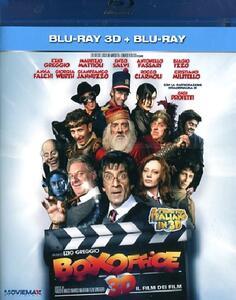 Box Office. Il film dei film. 3D (Blu-ray + Blu-ray 3D) di Ezio Greggio