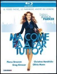 Cover Dvd Ma come fa a fare tutto? (Blu-ray)