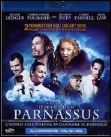 Parnassus. L'uomo che voleva ingannare il diavolo di Terry Gilliam - Blu-ray