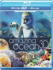 Film Amazing Ocean 3D (Blu-ray + Blu-ray 3D)