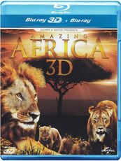 Film Amazing Africa 3D (Blu-ray + Blu-ray 3D)