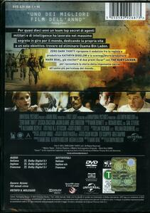 Zero Dark Thirty di Kathryn Bigelow - DVD - 2