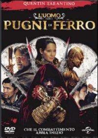 Cover Dvd uomo con i pugni di ferro (DVD)