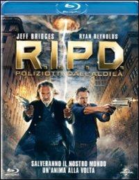 Cover Dvd R.I.P.D. Poliziotti dall'aldilà (Blu-ray)