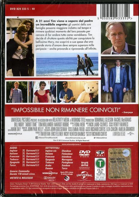 Questione di tempo di Richard Curtis - DVD - 2