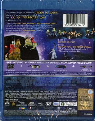 Cirque du Soleil. Mondi lontani 3D (Blu-ray + Blu-ray 3D) - Blu-ray ...