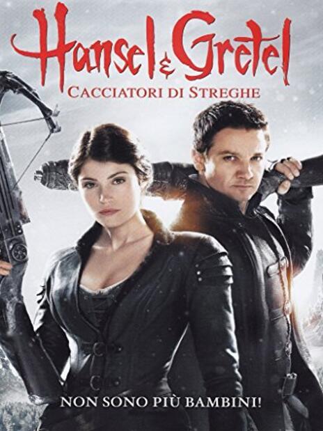 Hansel & Gretel. Cacciatori di streghe di Tommy Wirkola - DVD
