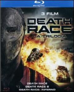 Death Race Collection (3 Blu-ray) di Paul W.S. Anderson,Roel Reiné