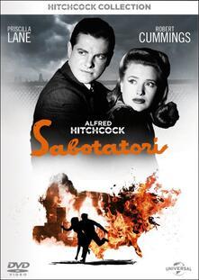 Sabotatori di Alfred Hitchcock - Blu-ray