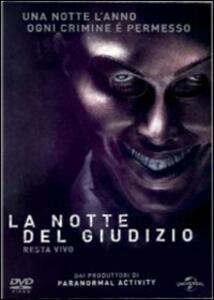 La notte del giudizio di James DeMonaco - DVD
